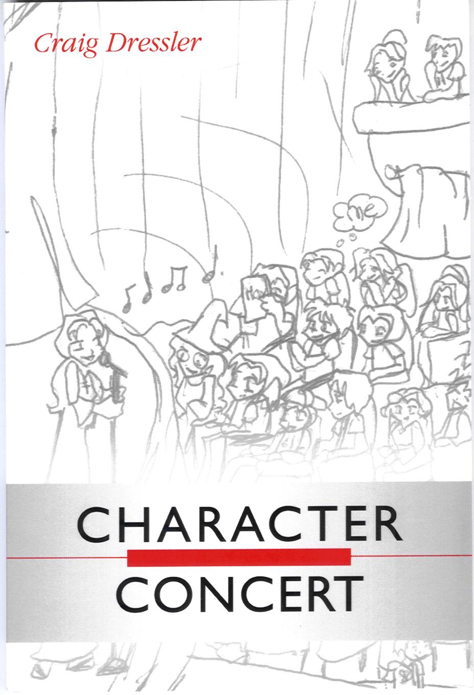 Character Concert Front Cover